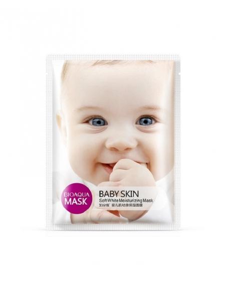 BIOAQUA BABY SKIN SOFT WHITE MOISTURIZING MASK