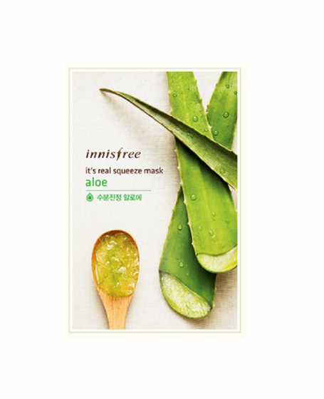INNISFREE IT'S REAL SQUEEZE MASK ALOE
