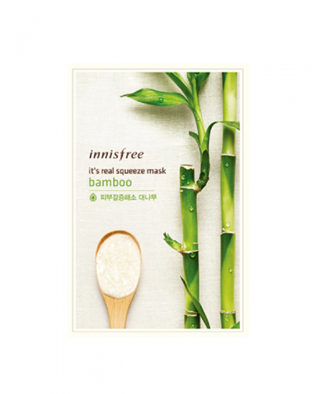 INNISFREE IT'S REAL SQUEEZE MASK BAMBOO