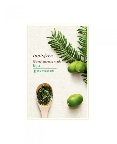 INNISFREE IT'S REAL SQUEEZE MASK BIJA