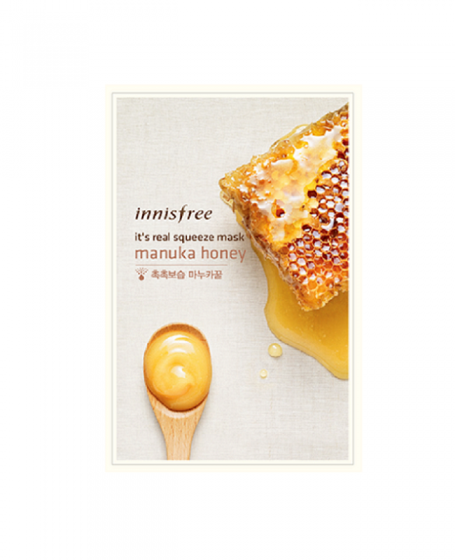 INNISFREE IT'S REAL SQUEEZE MASK MANUKA HONEY