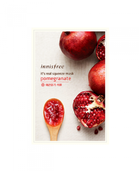 INNISFREE IT'S REAL SQUEEZE MASK POMEGRANATE ...