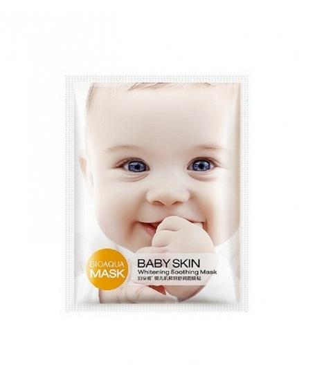 BIOAQUA BABY SKIN WHITENING SOOTHING MASK - 10PCS